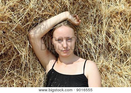 Girl In Straw