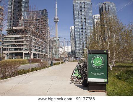 bike rentals toronto