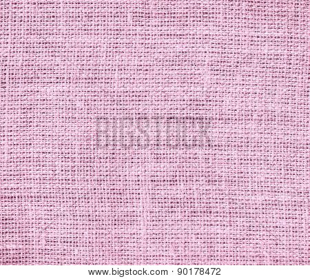 Cotton candy color burlap texture background