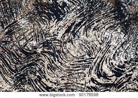 Black volcanic sand background