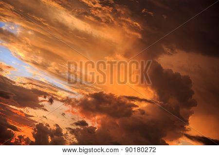 Magic Colorful Sunrise