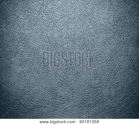 Cadet grey color leather texture background