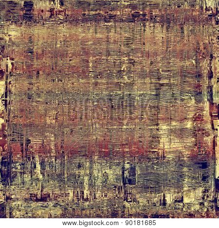 Abstract rough grunge background, colorful texture. With different color patterns: brown; gray; purple (violet); blue