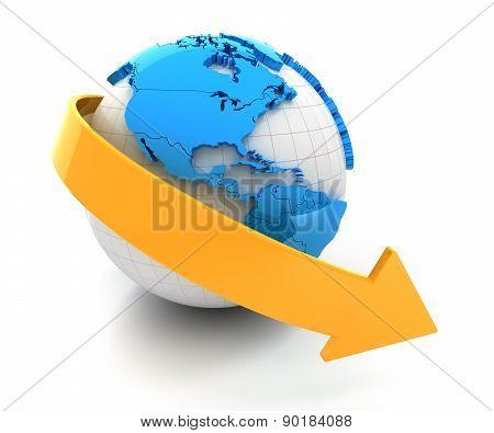 Global decline