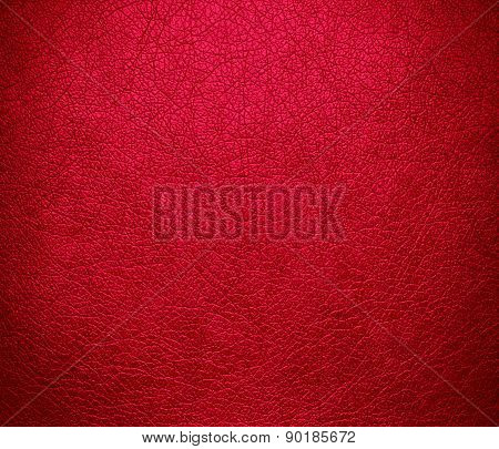 Carmine (M&P) color leather texture background