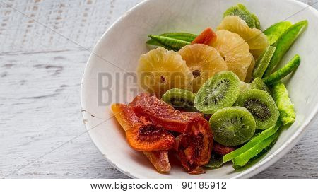 Closeup Of Dried Fruits Cooking