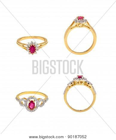 Collection of diamond rings