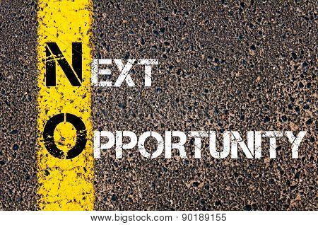 Business Acronym No As Next Opportunity