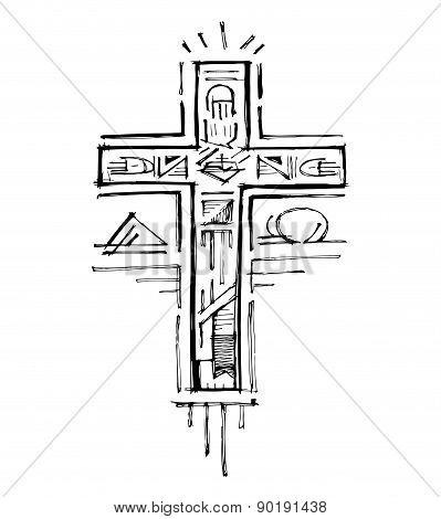 Alpha And Omega Cross C