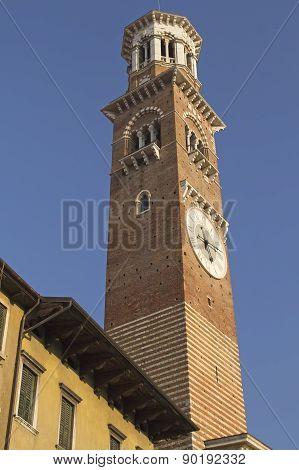 Torre Dei Lamberti (verona, Italy)