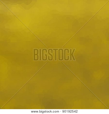 Abstract Blurry Yellow Ochre Pattern Background