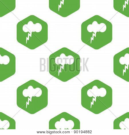 Thunderstorm pattern