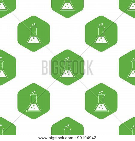 Triangle flask pattern
