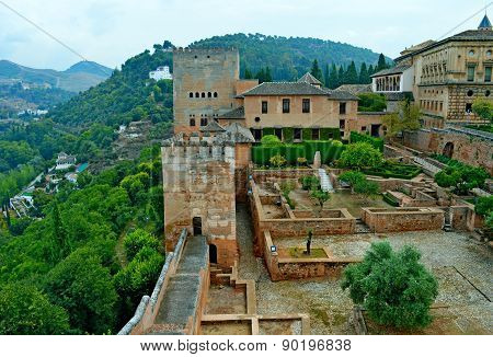 Spain Granada Alhambra Generalife  (16)