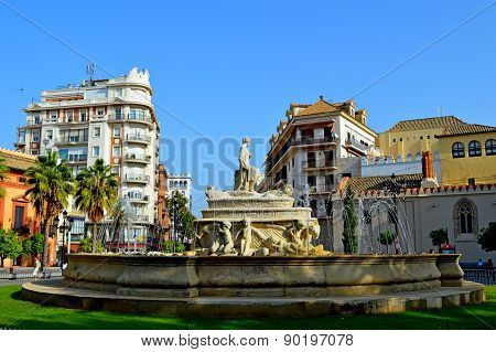Spain Seville Fountain