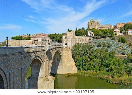 Spain Toledo Bridge