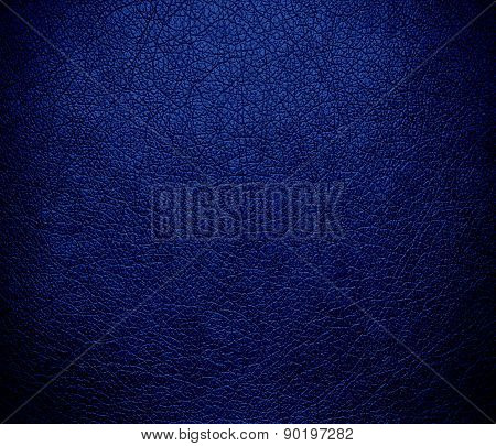 Catalina blue color leather texture background