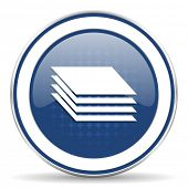 pic of gage  - layers icon gages sign  - JPG