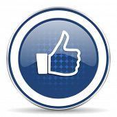 stock photo of thumb  - thumbs up icon thumb up sign  - JPG