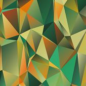 image of polygon  - Polygonal abstract geometry background - JPG