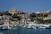 image of gozo  - The view of Mgarr - JPG