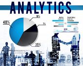 foto of stock market data  - Analytics Analysis Statistics Marketing Data Concept - JPG