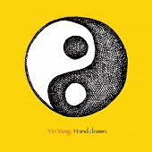 foto of yin  - Yin yang symbol - JPG