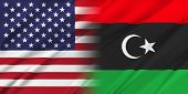 stock photo of libya  - Relations between two countries - JPG