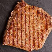 picture of rib eye steak  - rib - JPG