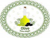 image of olive branch  - Vector illustration - JPG