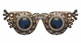 image of steampunk  - Steampunk goggles - JPG