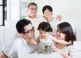 picture of family planning  - Toddler counting coins - JPG