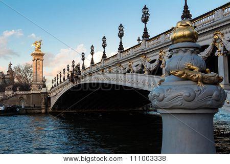 The Bridge Of Alexandre Iii.