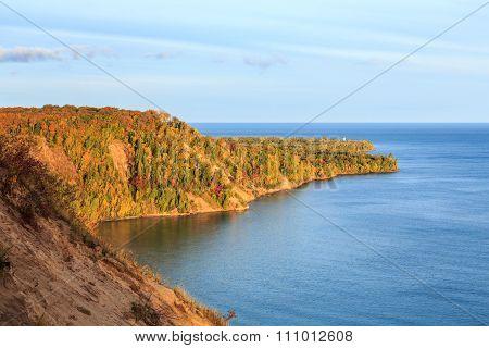 Au Sable Point Sunrise In Autumn