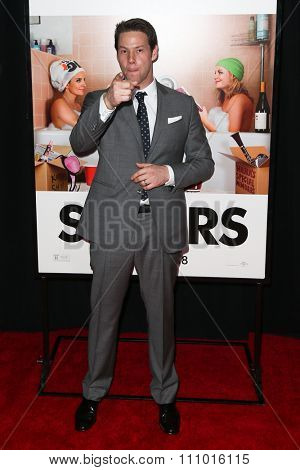 NEW YORK-DEC 8: Actor Ike Barinholtz attends the premiere of