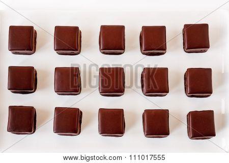 Chocolate Truffle Rows