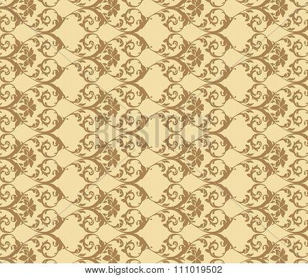 Vintage acanthus ornament pattern