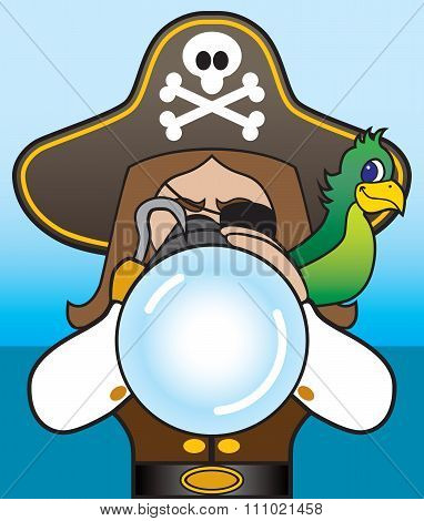 Pirate with Telescope