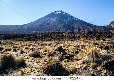 Tongariro crossing New Zealand unesco site national park