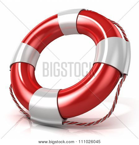 Lifebuoy. Right side view
