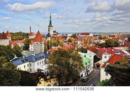 Old town Tallinn, Estonia.