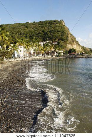 Landscape Of Bellefontainein Martinique