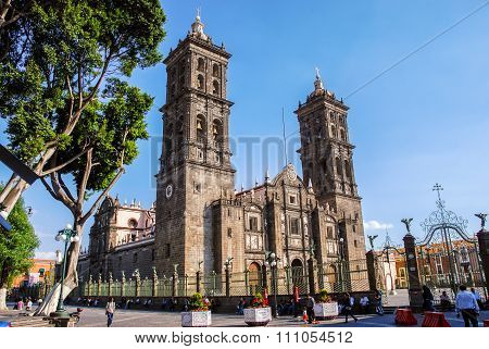 Cathedral of Puebla, Mexico