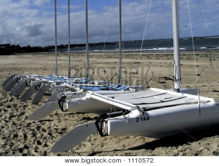 Boats In Normandy