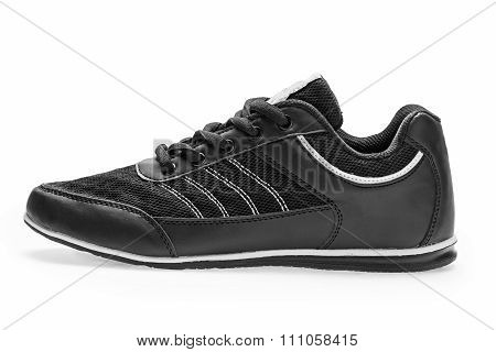 One Sports Sneaker With Shoelace