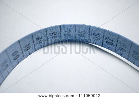 Measuring Tape. Blue