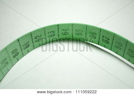 Measuring Tape. Green