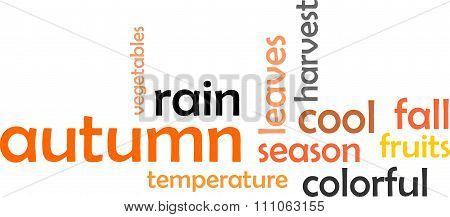 Word Cloud - Autumn