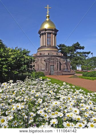 Temple-chapel of the Holy Trinity. St. Petersburg. Russia.