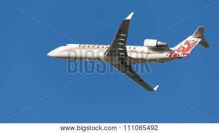 Passenger Aircraft Bombardier Crj-100